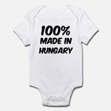 100 Percent Hungary Infant Bodysuit