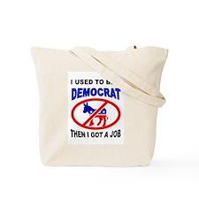 DEMOCRATS OUT Tote Bag