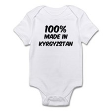 100 Percent Kyrgyzstan Infant Bodysuit