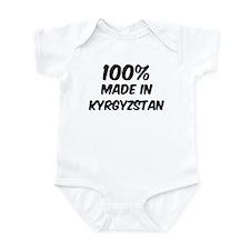 100 Percent Kyrgyzstan Infant Bodysuit
