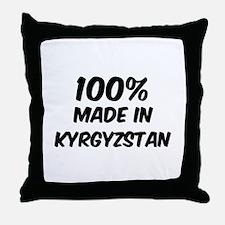 100 Percent Kyrgyzstan Throw Pillow
