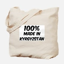 100 Percent Kyrgyzstan Tote Bag