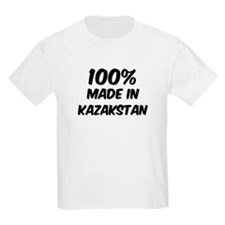 100 Percent Kazakstan Kids T-Shirt