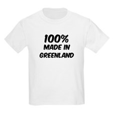 100 Percent Greenland Kids T-Shirt