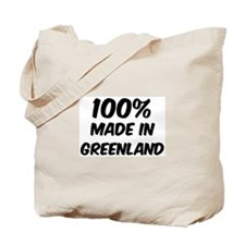 100 Percent Greenland Tote Bag