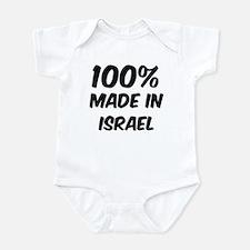 100 Percent Israel Infant Bodysuit