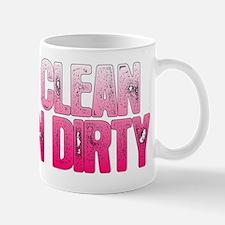 Unique Eat clean train dirty Mug