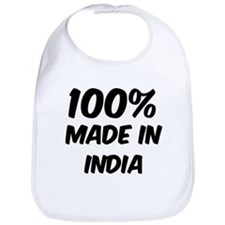 100 Percent India Bib