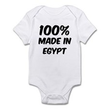 100 Percent Egypt Infant Bodysuit