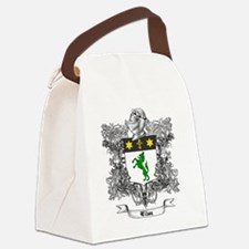 Wilson Family Crest 1 Canvas Lunch Bag