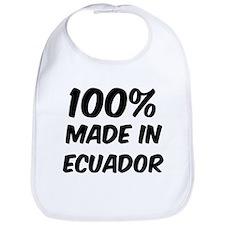 100 Percent Ecuador Bib