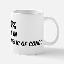 100 Percent Democratic Republ Mug
