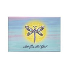 LetGo-Dragonfly1 Rectangle Magnet