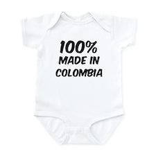 100 Percent Colombia Infant Bodysuit