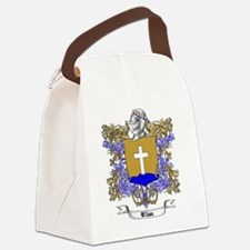 Wilson Family Crest 3 Canvas Lunch Bag