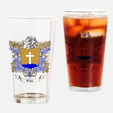 Wilson Family Crest 3 Drinking Glass
