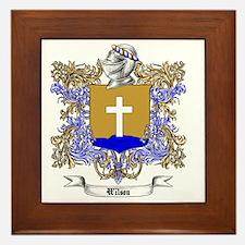 Wilson Family Crest 3 Framed Tile