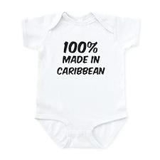 100 Percent Caribbean Onesie