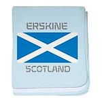 Erskine Scotland baby blanket