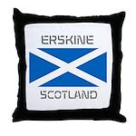 Erskine Scotland Throw Pillow