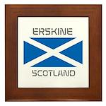 Erskine Scotland Framed Tile