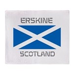 Erskine Scotland Throw Blanket