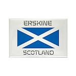 Erskine Scotland Rectangle Magnet (10 pack)