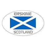 Erskine Scotland Sticker (Oval)