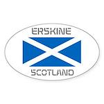 Erskine Scotland Sticker (Oval 50 pk)