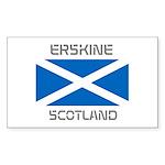 Erskine Scotland Sticker (Rectangle 10 pk)
