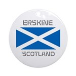 Erskine Scotland Ornament (Round)