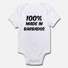 100 Percent Barbados Infant Bodysuit