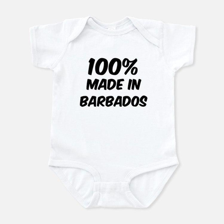 100 Percent Barbados Onesie
