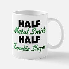 Half Metal Smith Half Zombie Slayer Mugs