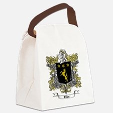 Wilson Family Crest 5 Canvas Lunch Bag