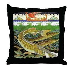 Underwater Kingdom Throw Pillow