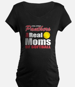 The real moms of softball Maternity T-Shirt
