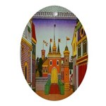 Kingdom of Tsar Dadon Oval Ornament