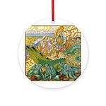 The Maiden's Rescue Ornament (Round)