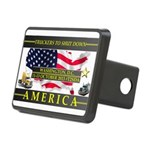 Truckers To Shutdown America Large Hitch Cover