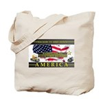 Truckers To Shutdown America Large Tote Bag
