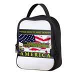 Truckers To Shutdown America Large Neoprene Lunch
