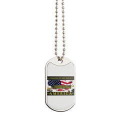 Truckers To Shutdown America Large Dog Tags
