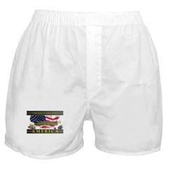 Truckers To Shutdown America Large Boxer Shorts