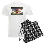 Truckers To Shutdown America Large Pajamas