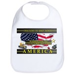 Truckers To Shutdown America Large Bib