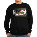 Truckers To Shutdown America Large Sweatshirt