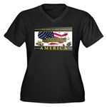 Truckers To Shutdown America Large Plus Size T-Shi