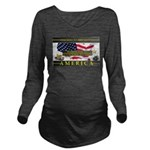 Truckers To Shutdown America Large Long Sleeve Mat