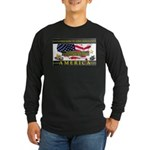 Truckers To Shutdown America Large Long Sleeve T-S